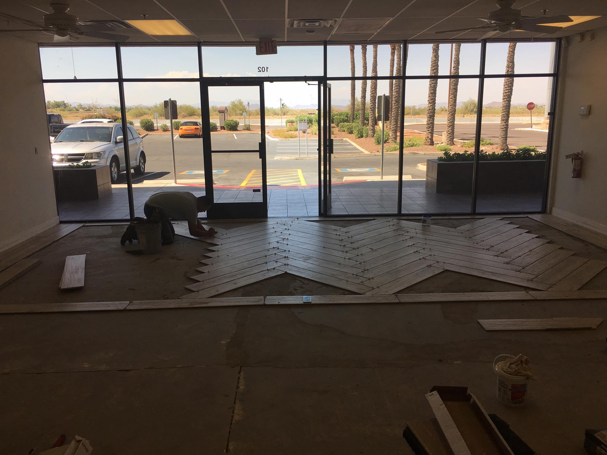 Cranmore Tile Installation